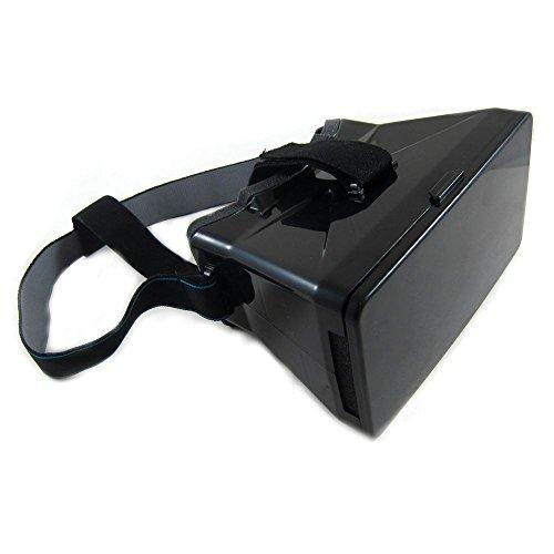 jbTec® Universal Virtual Reality 3D Videobrille fürs Handy - 4-5,5' Zoll - 360 Grad VR-Brille Cardboard