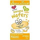 Kiddylicious Tranches De Bananes 10 Tranches 20G 6 + Mois - Lot De 2