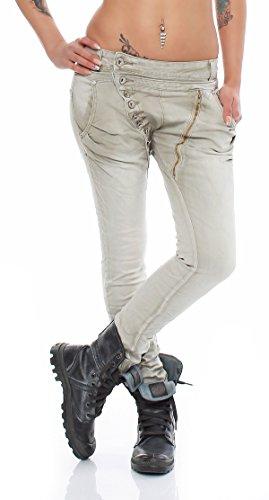 SKUTARI -  Jeans  - boyfriend - Donna verde Blassgrün Medium