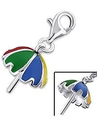 So Chic Joyas - Colgante Charm paraguas Plata 925