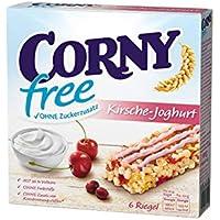 CORNY free Kirsch-Joghurt Müsliriegel OHNE Zuckerzusatz, 6x120g