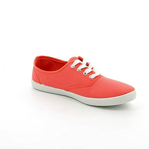 Ideal Shoes, Damen Sneaker Rosa - Corail
