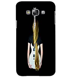 SAMSUNG GALAXY GRAND MAX GUITAR GIRL Back Cover by PRINTSWAG