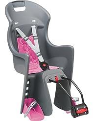 Polisport Kinder Fahrrad-Kindersitz, grau, 61005600