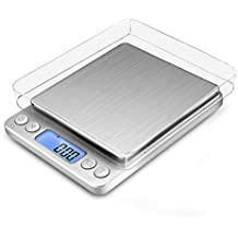 Báscula Digital con dos Plato Removibles para Cocina de Alta Medición Precisa, Balanza Electrónica Digital