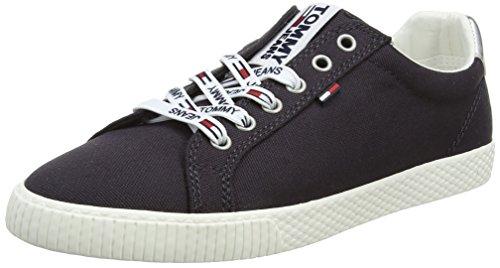 Hilfiger Denim Tommy Jeans Casual Sneaker, Scarpe da Ginnastica Basse Donna, Blu (Midnight 403), 38 EU