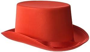 Rire et Confetti Reír y confeti - Fiedis069 - Disfraces de accesorios - sombrero de copa en forma de Red