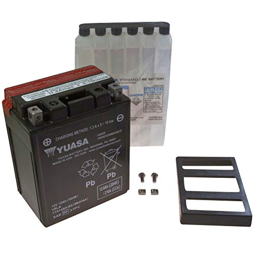 Yuasa AGM Batterie Trail Blazer 330 2008-2010 YTX14AH-BS (Trailblazer 330 Polaris)