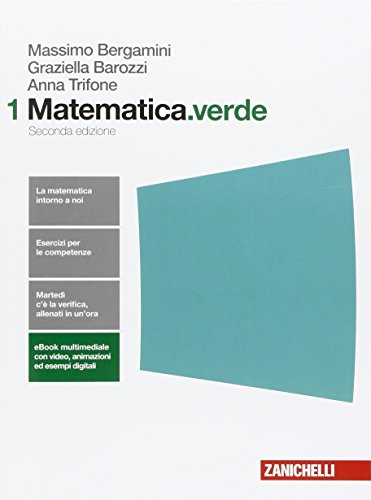 Matematica.verde. Per le Scuole superiori. Con e-book. Con espansione online