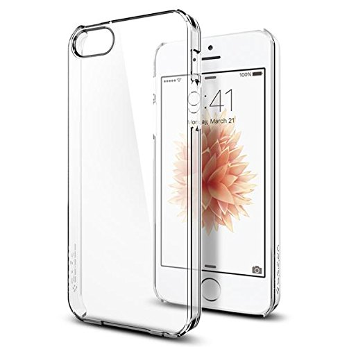 iphone-se-case-spigenr-thin-fit-exact-fit-crystal-clear-premium-matte-finish-hard-case-for-iphone-5-