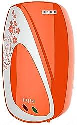 Usha Instafresh 1-Litre 3000-Watt Instant Water Heater (Solid Tangerine)
