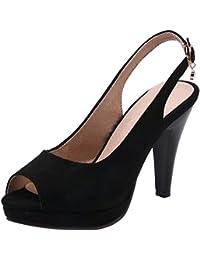 Amazon.es  RAZAMAZA CENTER - Sandalias de vestir   Zapatos para ... 2a7e64c93b99