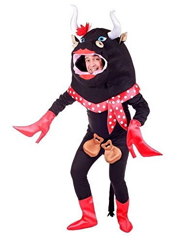 Nines d´Onil Flamenco Stier Kostüm für Erwachsene - Lustiges Tierkostüm für Damen und ()