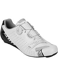 Scott Road Comp Boa - Zapatillas de Ciclismo (Talla 41, Color Blanco)