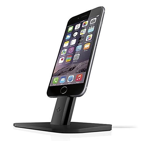 Twelve South HiRise | Station d'Accueil pour iPhone/iPad avec Connecteur Lightning Noir