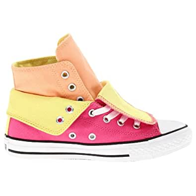 Converse CT Two Fold Hi Rose Youth Trainers Size 38.5 EU