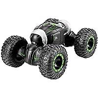Markc La deformación control remoto de coches de juguete niños trenzado de doble cara-o-terreno de alta velocidad a subir del muchacho de coches de coches de juguete con un solo botón Deformación Cond