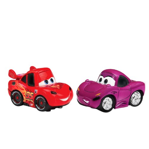 AppMATes 6019416 - Disney Pixar Cars 2 - Twin Pack McQueen & Holley