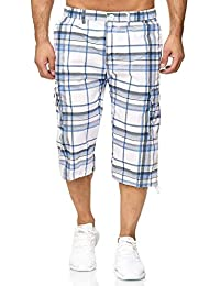 ArizonaShopping - Shorts Pantalon Court pour Hommes Bermuda Fresh-Air à  Carreaux 2880cc8159d