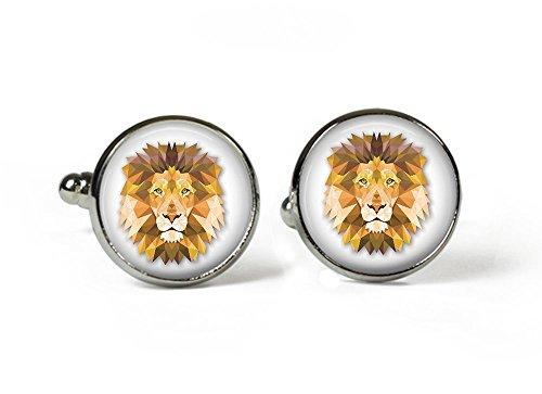 lion-en-verre-boutons-de-manchette-en-argent-plaque-motif-photo-v8