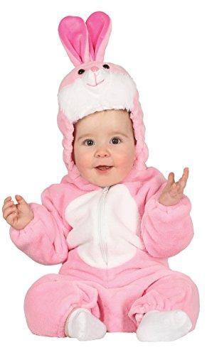 ase Baby Overall Häschen Tierkostüm Hasenkostüm Fasching (68/80) (Rosa Hase Baby Kostüm)