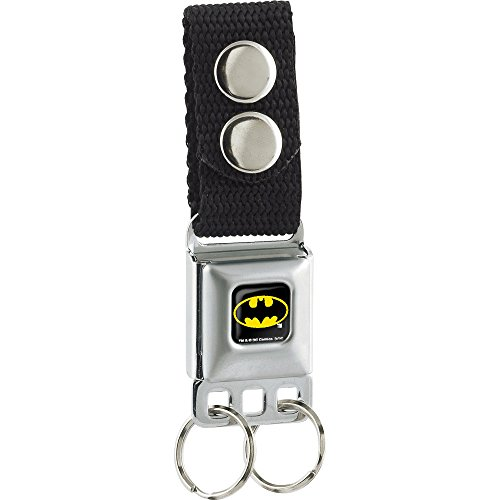 buckle-down Batman Batman seat-belt Stil Schlüsselanhänger Seat Belt Buckle Down