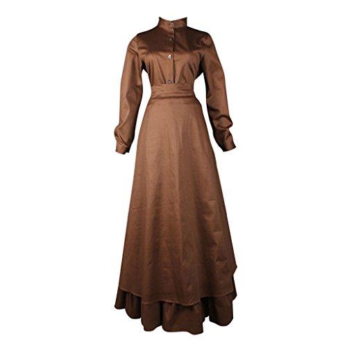 Cosplayitem Damen Mittelalterlichen Kleid Gothic Victorian Renaissance Kostüm Maid Kleid (Maid Kostüme Custom)
