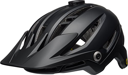 BELL Unisex- Erwachsene SIXER MIPS Fahrradhelm, mat/Gloss Black, M