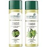 Biotique Bio Bhringraj FreshGrowth Therapeutic Oil, 200ml and Biotique Bio Bhringraj Fresh Growth Therapeutic Oil, 120ml
