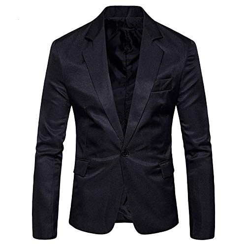 crazy player Herren Slim Fit Sakkos Anzugsjacke mit Brusttasche Einknopf Muster fit Business Freizeit Hochzeit in schwarz weinrot weiß