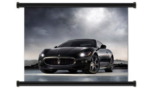 maserati-granturismo-fabric-wall-scroll-poster-32-x-24-inches-by-scrolldepot