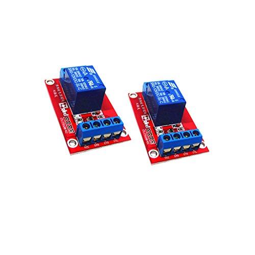 Sharplace 2 x 3V Relaismodul 1-CH für Arduino -
