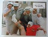 8 photos couleurs (21 cm x 27 cm) de Faut s'les faire… ces légionnaires ! (1981), film réalisé par Alain Nauroy avec Henri Garcin, etc. - Bon état.