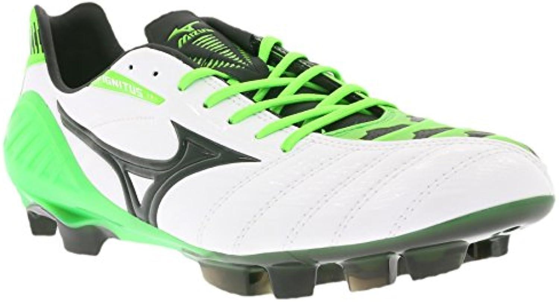 Mizuno Wave Ignitus 3 MD botas de fútbol para hombre P1GA153037 verde, Size:40