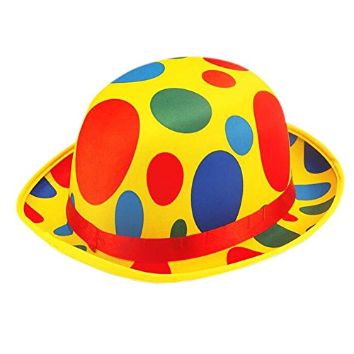 Blancho Party Kostüm Karneval Cap Halloween Hut Clown Hut Clown Cap Clown Top Hat