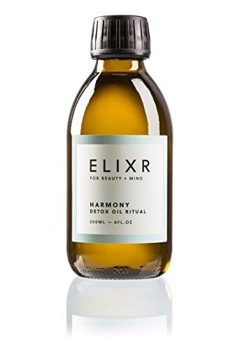 ELIXR Harmony Detox Ölziehkur, Natürliches Mundöl zum Ölziehen, Ayurvedische Mundspülung zum...