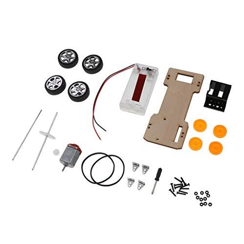 KESOTO DIY Allradantrieb Auto Modellbau Spielzeugauto zum Selber Bauen
