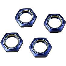 Ecrous de roues alu Bleu Kyosho pour MP9