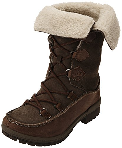 Merrell Emery Lace High, Women's Lace-Up Boots - Brown (Falcon), 7 UK
