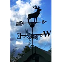 Poppy Forge Quality Large Weathervanes in lots of unique designs. British Made[Stag] SUN140