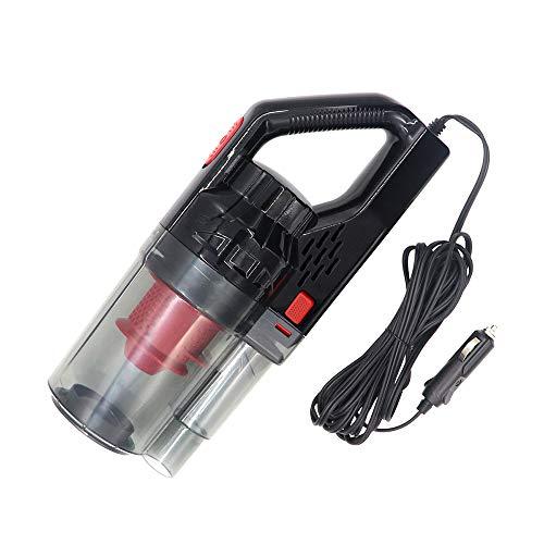 KKmoon 12v Aspirador de Coche, Aspirador de Mano Potente de Alto Voltaje 150W 6000PA Húmedo/seco