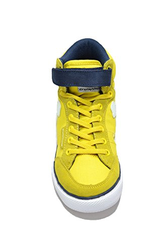 DrunknMunky Boston Classic, Chaussures de Tennis fille Giallo/blu