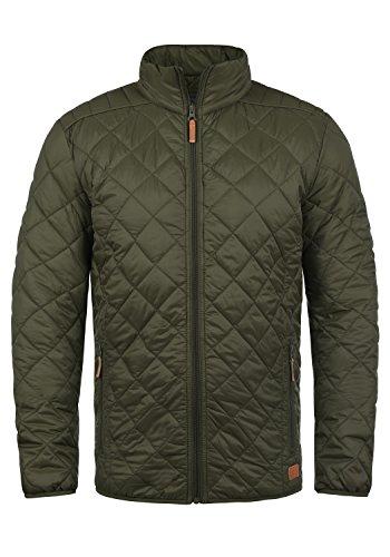 BLEND Stanley Herren Übergangsjacke Stepp-Jacke mit Stehkragen aus hochwertiger Materialqualität Ivy Green
