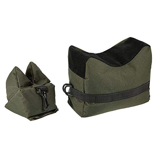 Rifle/Air Gun Front and Rear Rest Bench Bag Hunting Shooting -