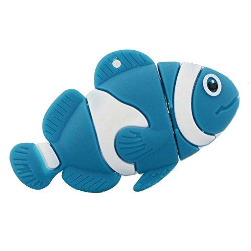32gb pesci blu modello usb flash drive usb pendrive pen drive usb di memoria esterna pollice stick usb memory card