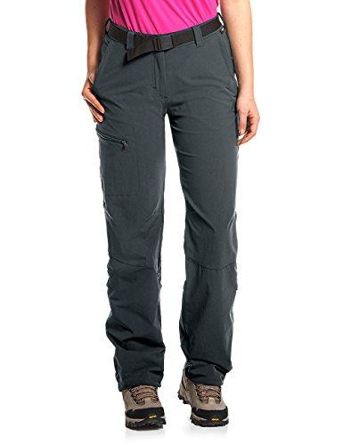 YSENTO Damen Outdoor-Wanderhose wasserabweisend mit Rei/ßverschlusstaschen leicht schnelltrocknend