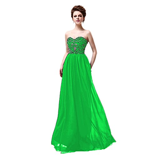 Vimans -  Vestito  - linea ad a - Donna Bright Green
