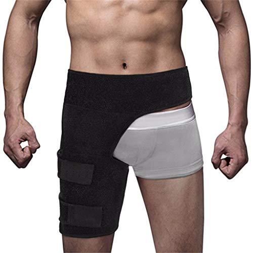 Marico Nahum Kompressionsorthese, Anti Muskel Belastung Fitness Leggings Hüftgurt lschias Nerven Schmerzlinderung, Oberschenkel Oberschenkel Sport Schutzausrüstung