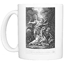 Photo Mug of The Angel of the Lord appears to the Prophet Elijah by Prints Prints Prints