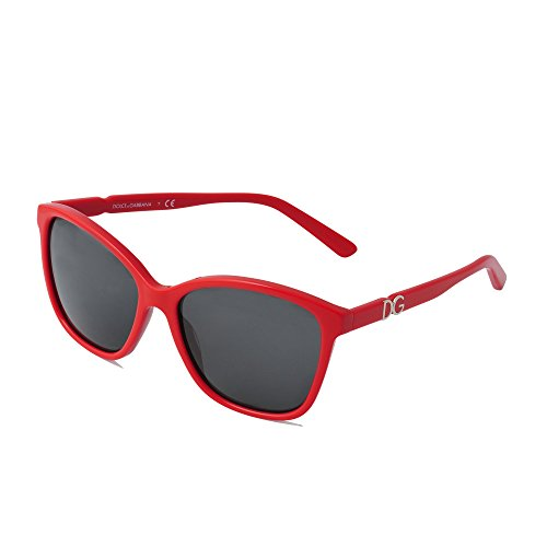 Dolce & Gabbana Damen Sonnebrille Gr. one size, Rot - Rot